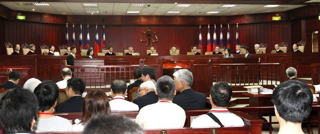 憲法法庭。 聯合報系資料照