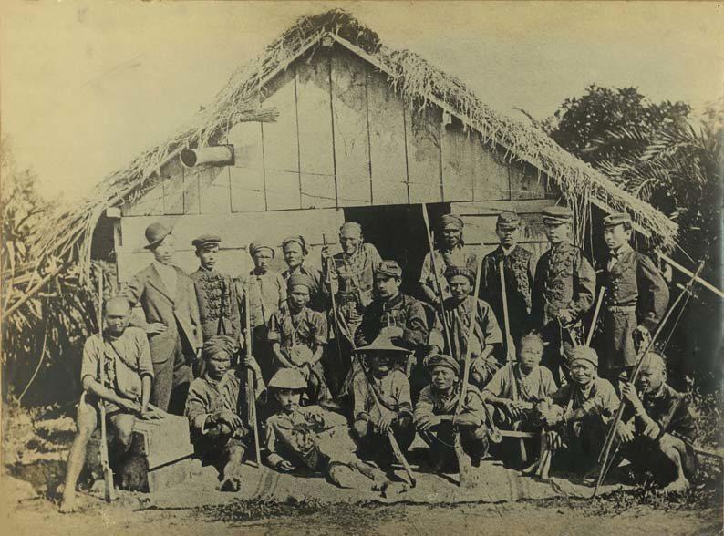 1874年日本出兵臺灣之士兵,圖中為薩摩藩指揮官西鄉從道。 圖/維基共享