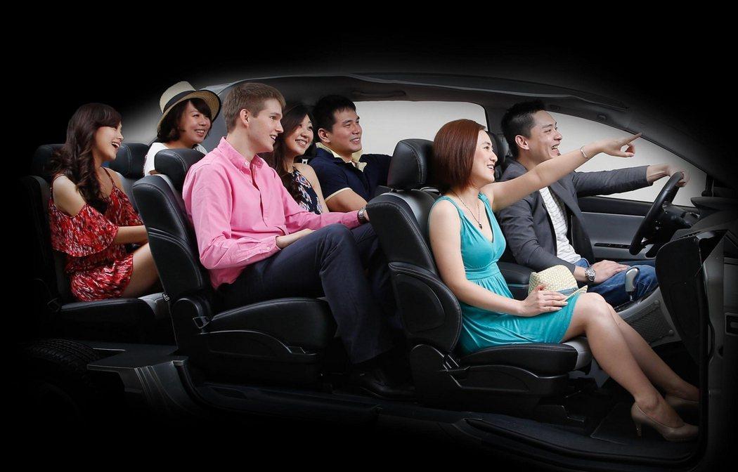 七人座SUV更適合挑戰不同道路情況。 圖/納智捷提供
