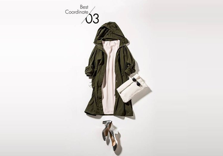 寬版長版連帽外套,1,990元;短袖寬襬洋裝,1,490元。圖/Bella儂儂提...