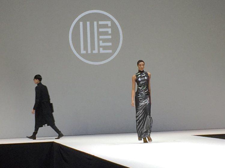 汪俐伶的自創品牌「WANGLILING」是第二次登上紐約時裝周。圖/中央社