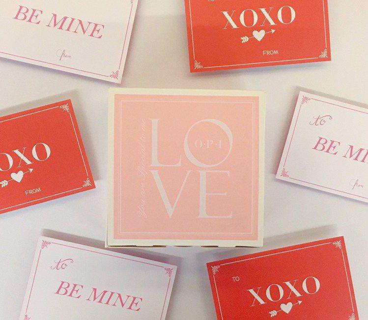 OPI、Nail Library指藝圖書館專櫃推出情人節限定的OPI愛的禮物盒與...