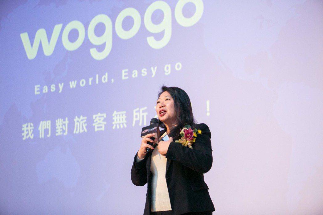wogogo平台營運長方寶儀說,wogogo內的導遊除本身都持有中華民國導遊的執...