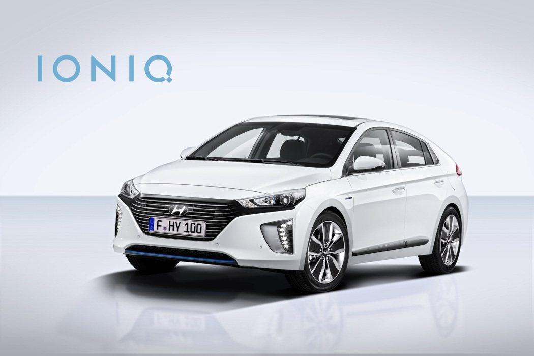 Hyundai IONIQ。 圖/Hyundai提供