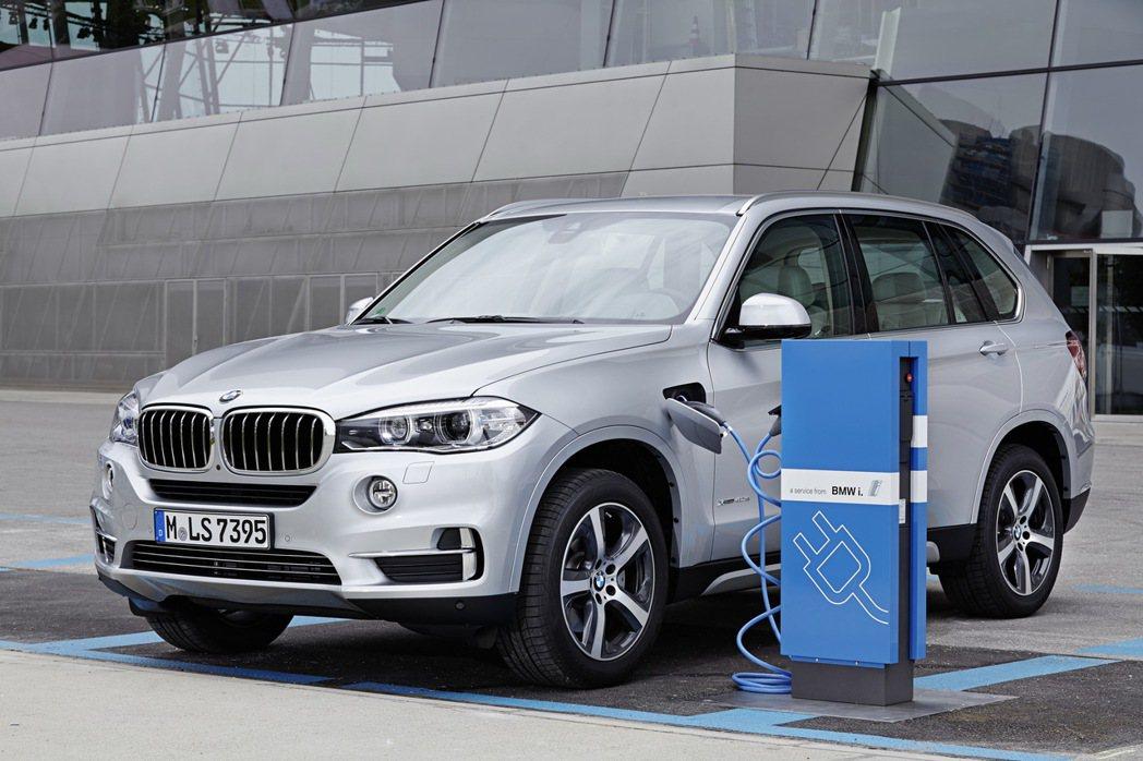 BMW X5 xDrive40e。 圖/BMW提供