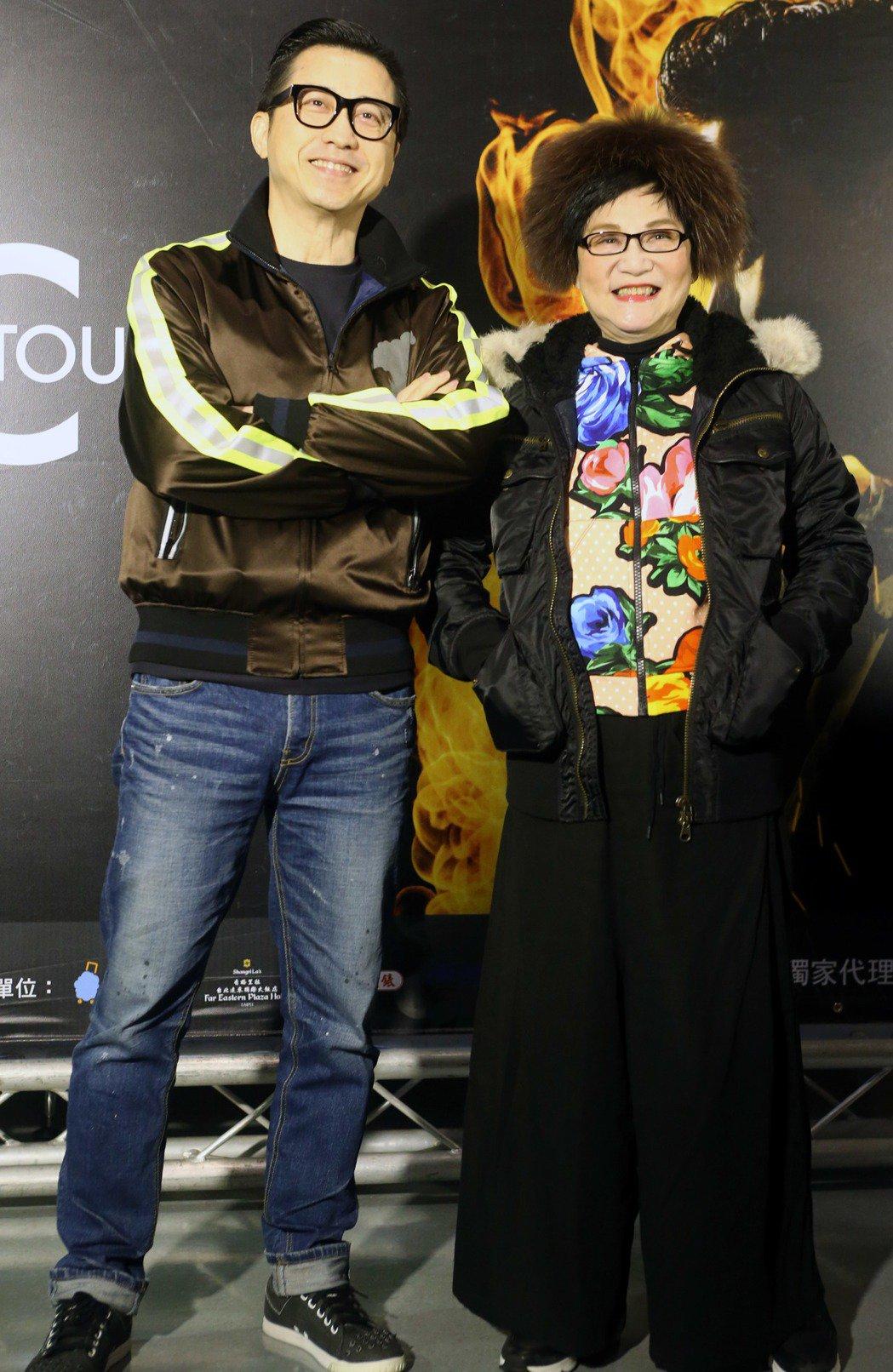 張小燕、哈林到小巨蛋聽「A CLASSIC TOUR 學友.經典世界巡迴演唱會」...