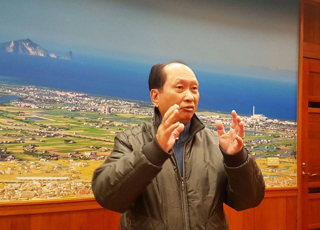 宜蘭縣代理縣長吳澤成今天宣布將取消違規農舍房屋稅加倍課徵。記者吳佩旻/攝影
