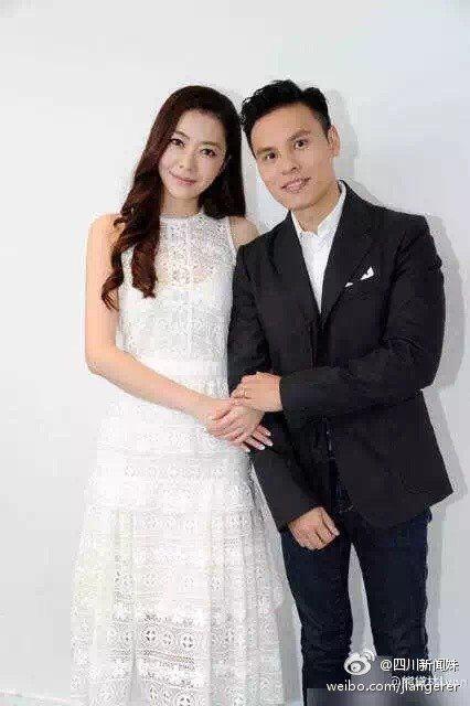 熊黛林與香港女星郭可盈的弟弟郭可頌,於去年十月份正式登記成婚。圖/取自微博