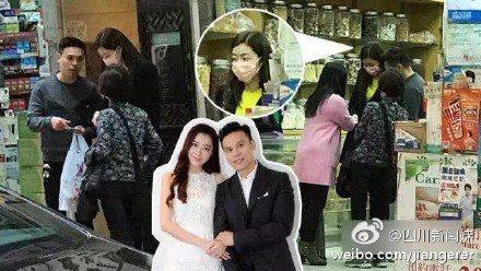 日前有網友直擊,熊黛林在老公郭可頌的陪同下,出現在香港上環一家中藥舖看中醫。圖/...