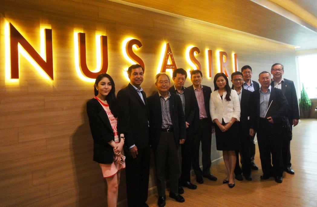 大陸建設由張良吉董事長(左三)率團到泰國曼谷考察商機。