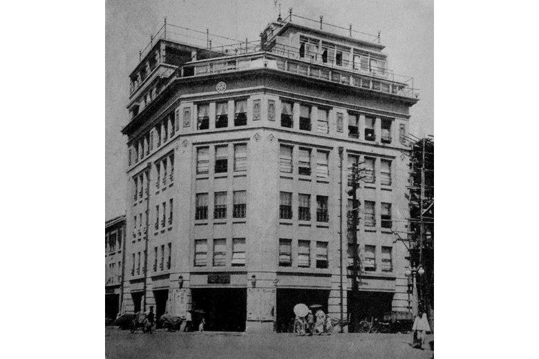 1932年開幕的菊元百貨是全台第一家現代化百貨公司。 圖/作者提供