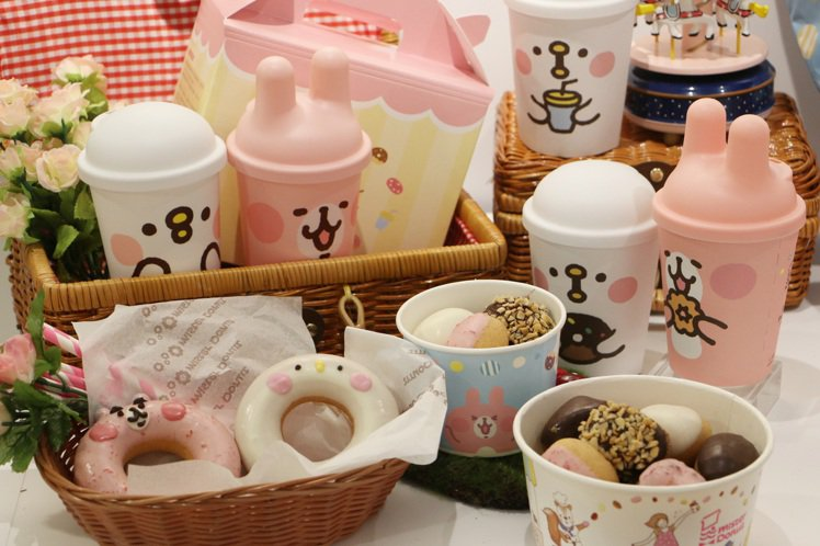 Mister Donut新推出Donut Pop小球系列,並攜手「卡娜赫拉」粉紅...
