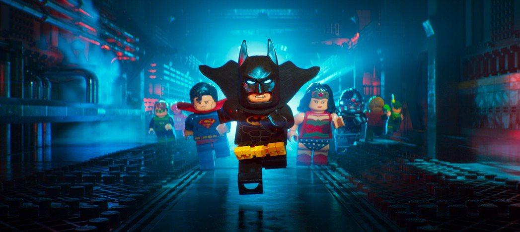 「樂高蝙蝠俠電影」自從在全球上映以來,評價票房成績都非常優秀。圖/華納兄弟影業提
