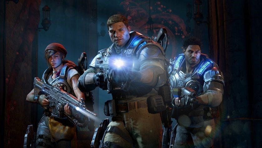 Xbox專屬遊戲《戰爭機器4》全新改版登場。圖/微軟提供