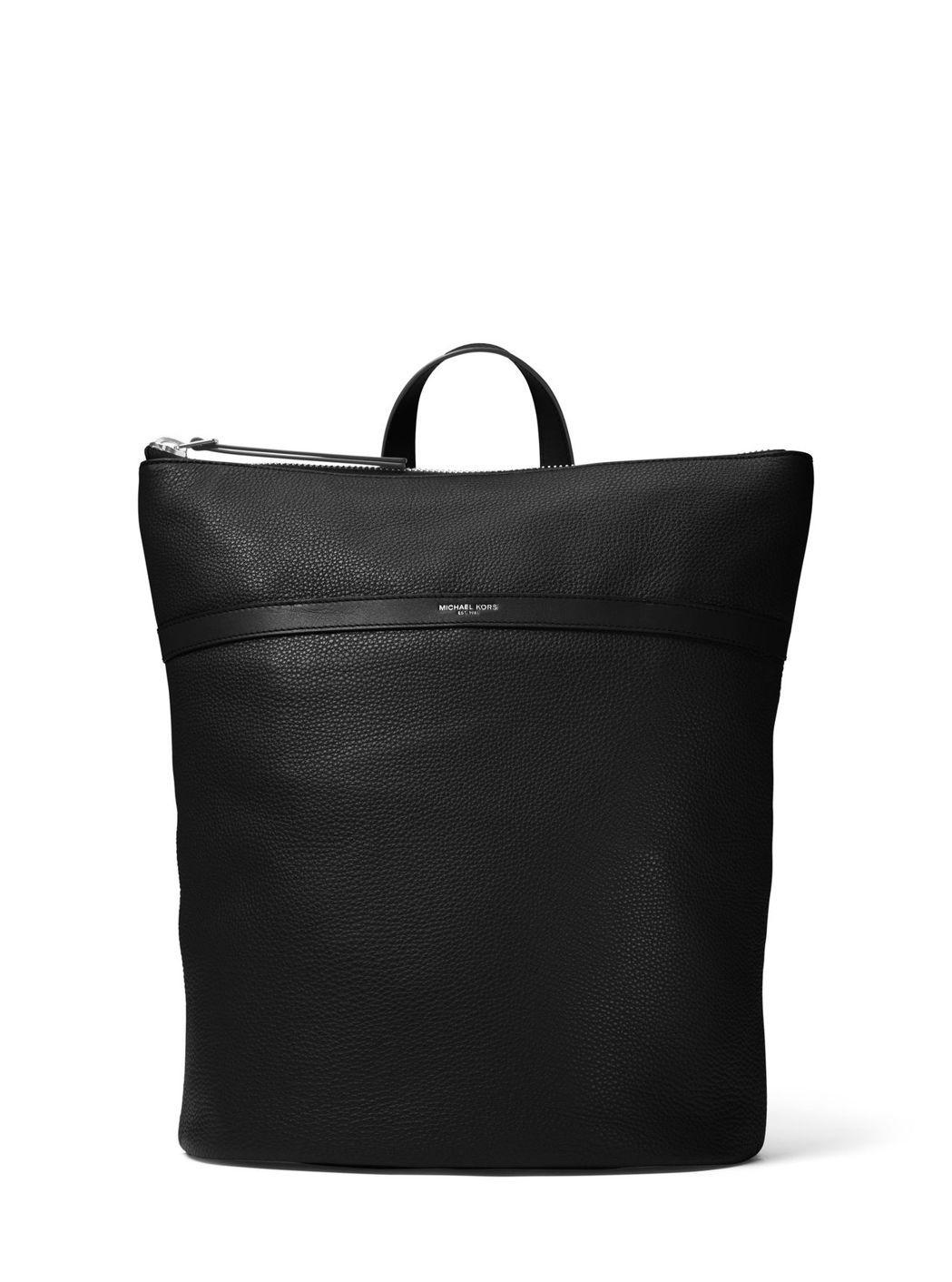 Jeremy黑色後背包,售價35,500元。圖/MICHAEL KORS提供