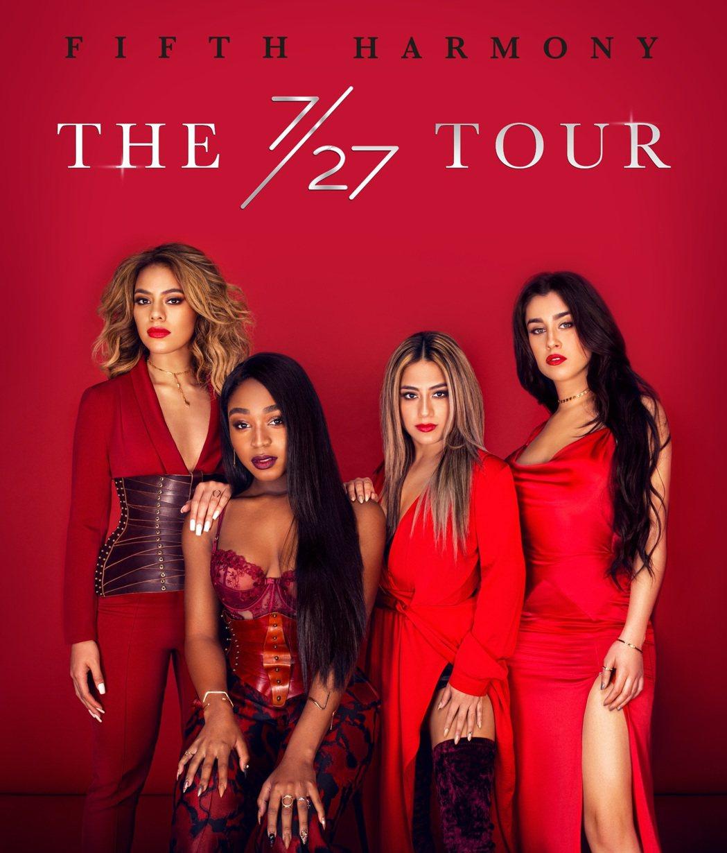 全球13億點擊YouTube年度冠軍神曲,五佳人4月1日在台大綜合體育館開唱。圖