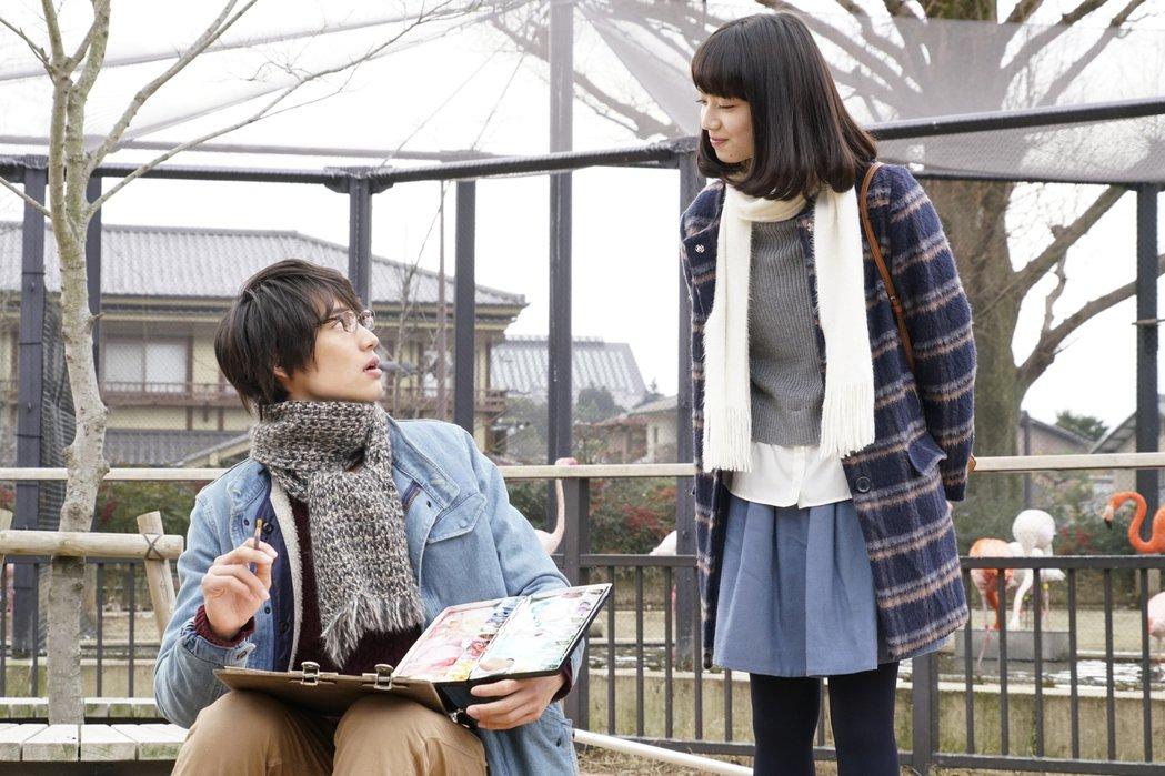 福士蒼汰與小松菜奈在「明天,我要和昨天的妳約會」首度合作。圖/采昌國際多媒體提供