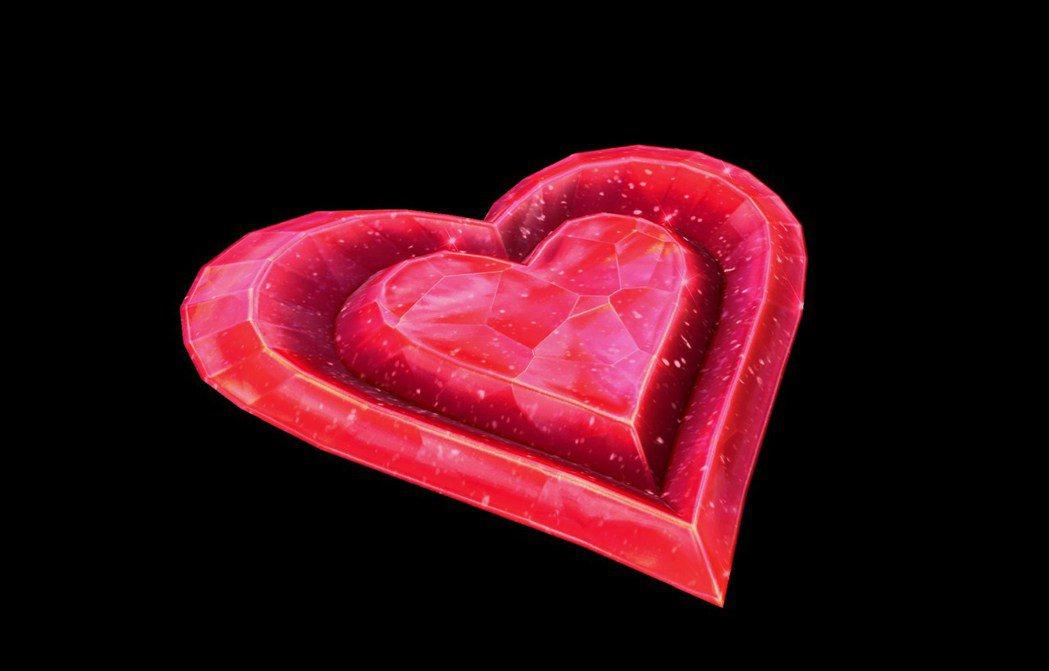 2017濃情密意包全新坐騎─ 真愛之心。
