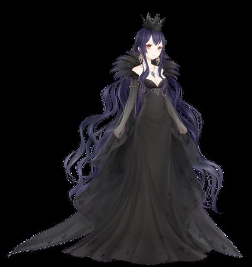 「夜魄千魅」,魅惑力十足的女王即將開始黑暗中的狂歡。