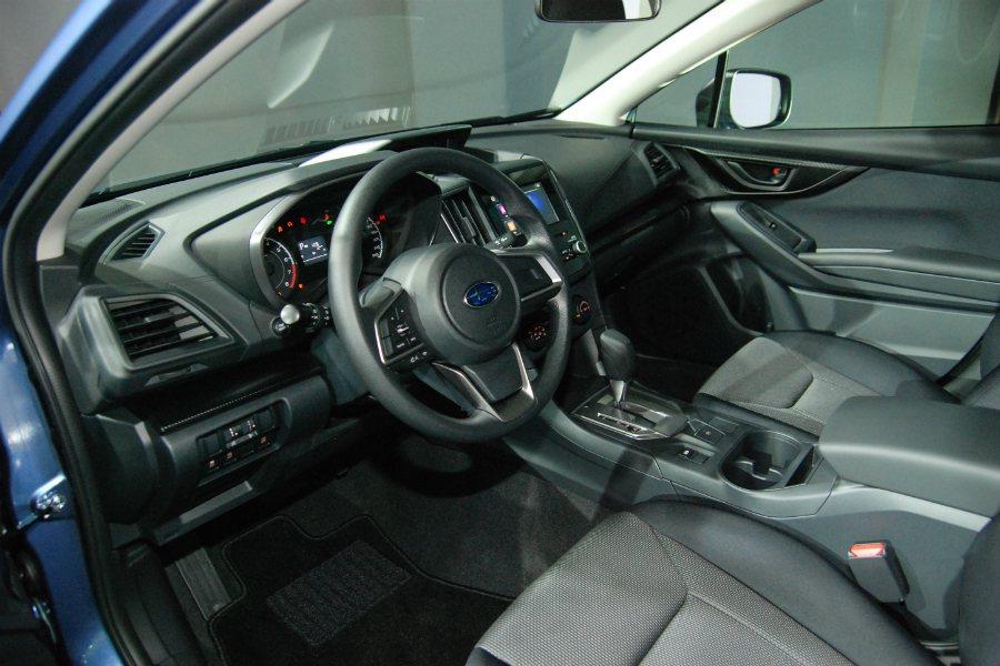 拜 SGP(Subaru Global Platform)平台建構基礎所賜,全新 Subaru Impreza 整體車格微幅上漲。 記者林鼎智/攝影