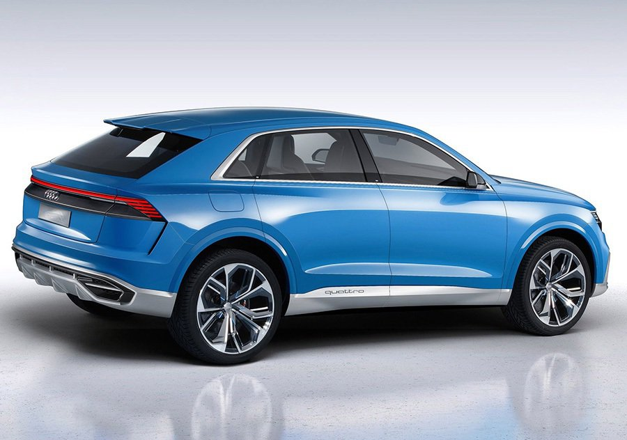 Q8 hybrid concept概念車 Audi提供