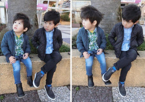 亞歷山大和弟弟肥安在網路上擁有超多粉絲。圖/摘自亞歷媽IG