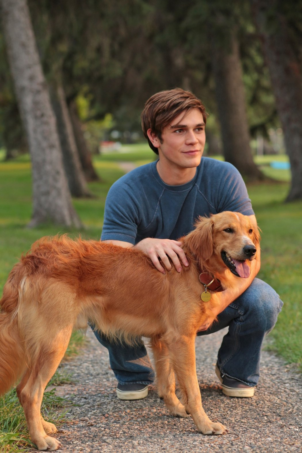 新片「為了與你相遇」改編自全球暢銷同名小說,以狗兒為第一人稱,描述穿越五十年時空...