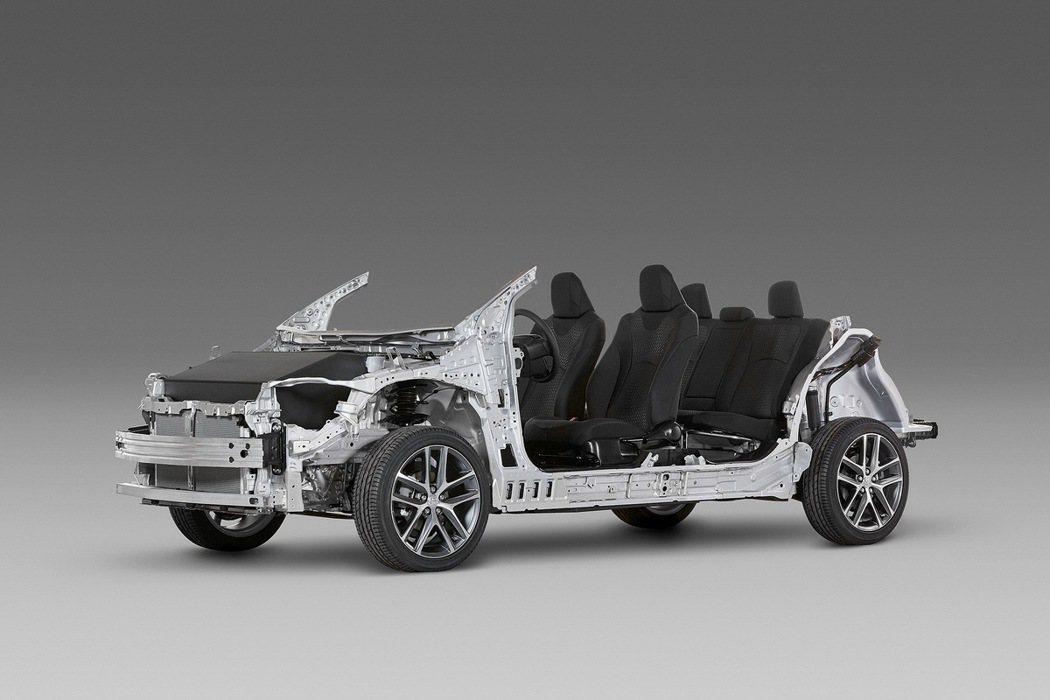 TNGA底盤加持,強化車體剛性及空間。 圖/TOYOTA提供
