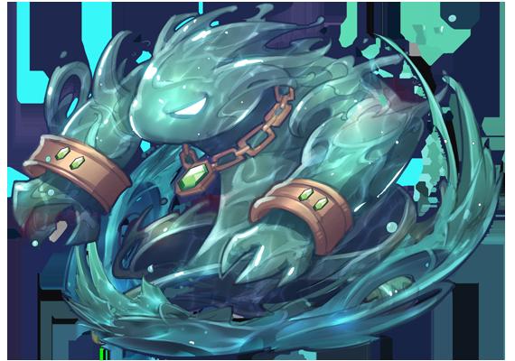 「拉斯維諾」守護者—水元素巨人•沃特列昂