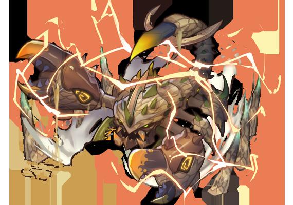 「亞瑞達斯」守護者—沙暴蠍•厄席拉朗