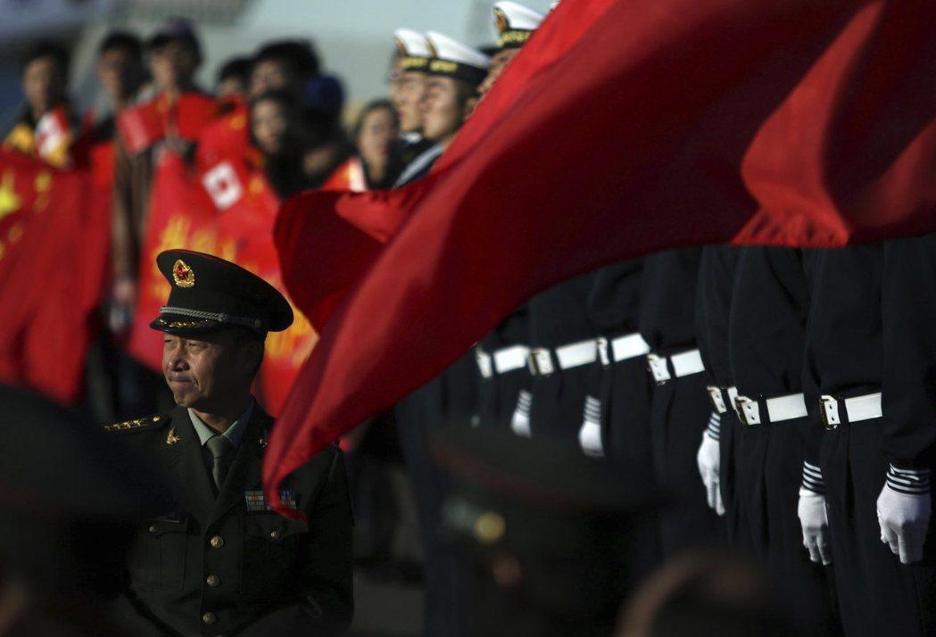 今日的中國已經發展出強調自己是「陸海兼備」大國的身份認同。 圖/美聯社
