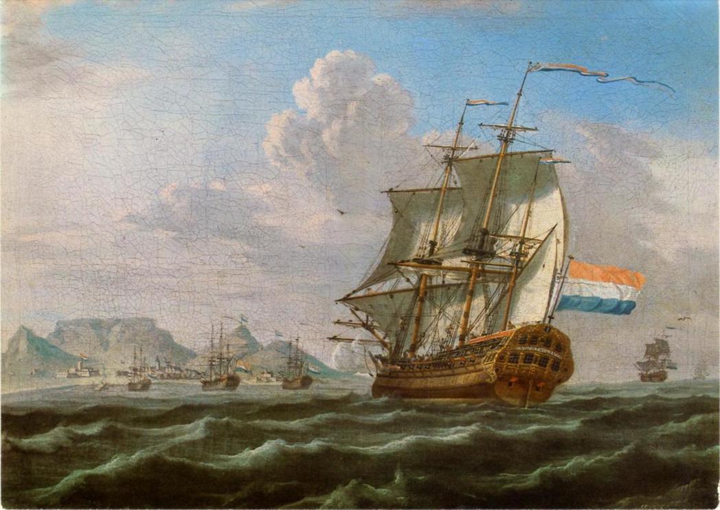 荷蘭東印度公司VOC正式進入長崎出島,開創與日本江戶幕府長達二百多年的貿易。 圖...