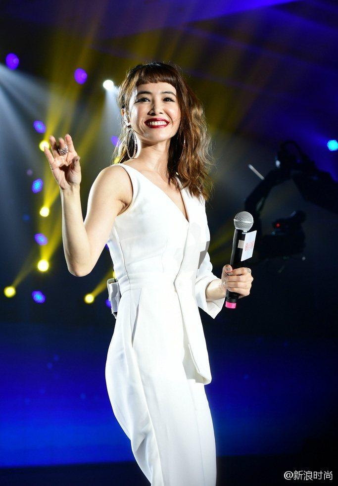 蔡依林的勁歌熱舞依舊讓全場沸騰。圖/摘自微博