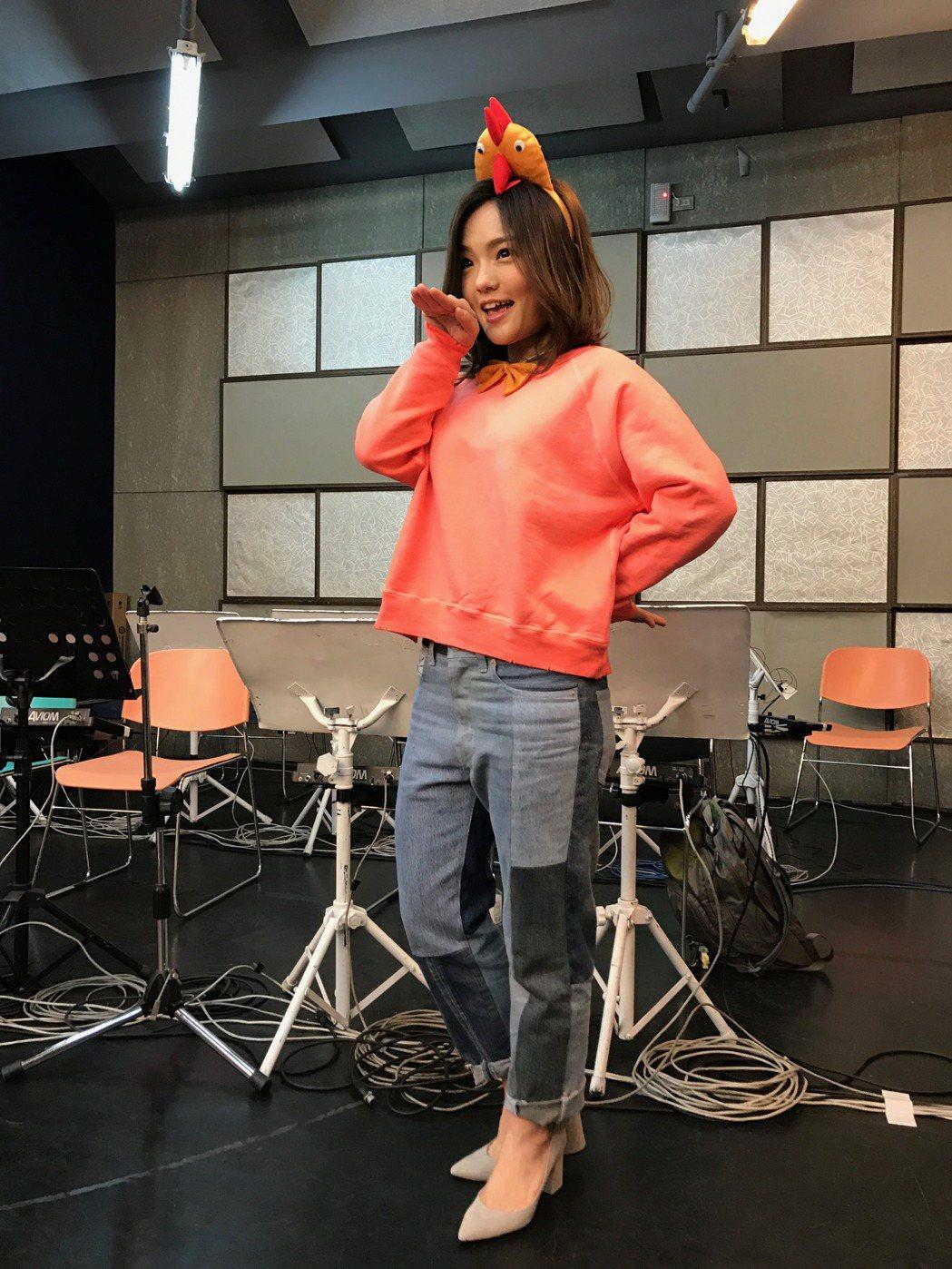 LaLa徐佳瑩為「是日救星」巡迴演唱會彩排。圖/亞神提供