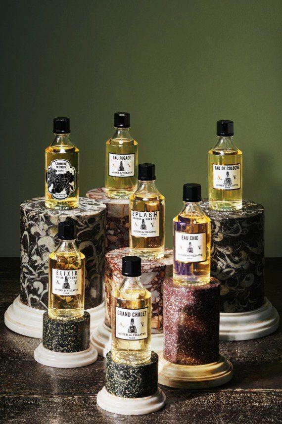 Astier de Villatte的每一個香味都取名自一個特別的地名,象徵不同...