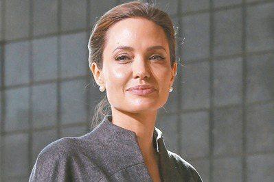 好萊塢影星安潔莉娜裘莉(Angelina Jolie)。 路透