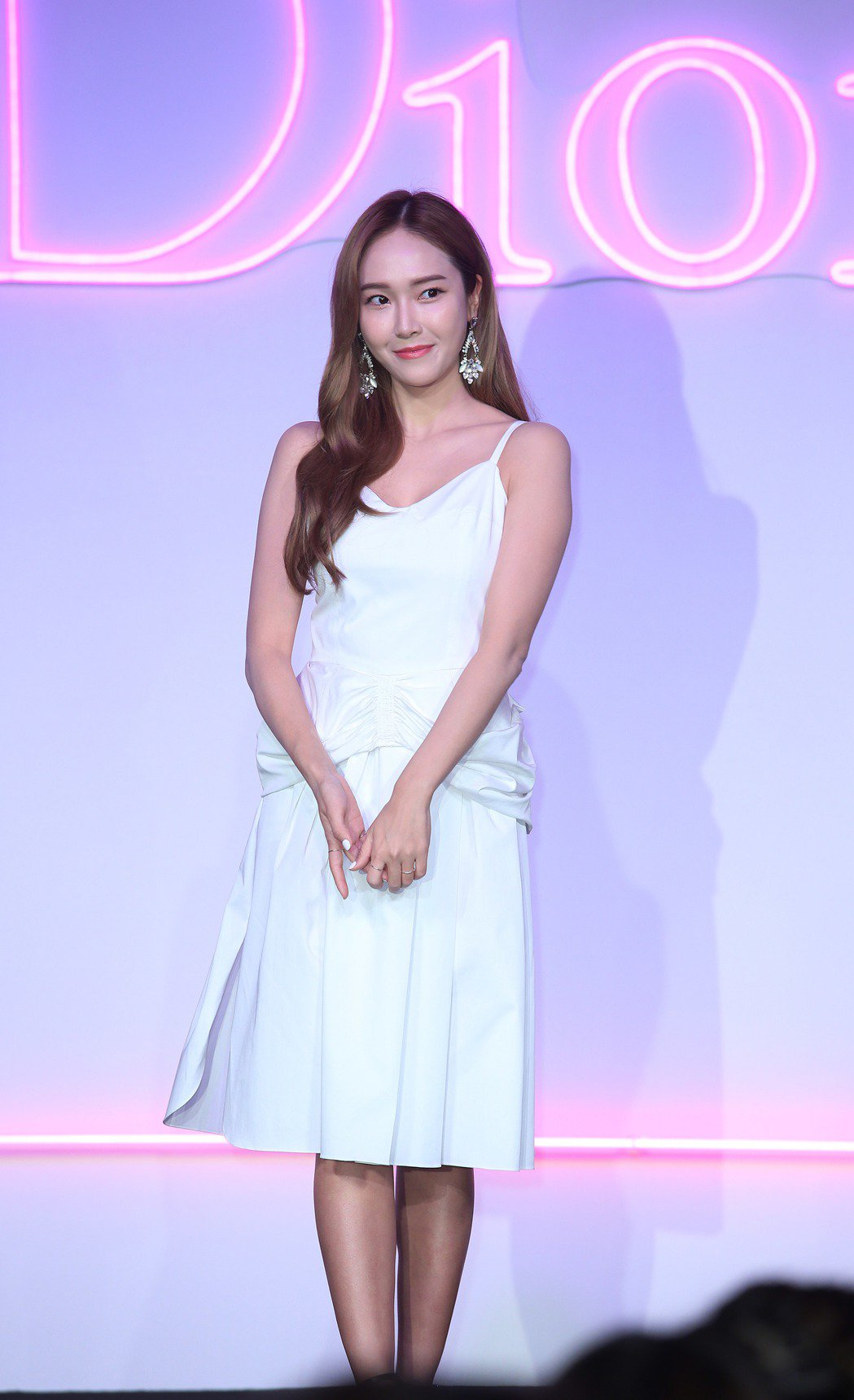 韓星Jessica鄭秀妍來台出席活動。記者陳瑞源/攝影