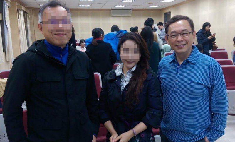 中視總經理趙善意(右)今傳出離職。圖/摘自趙善意臉書