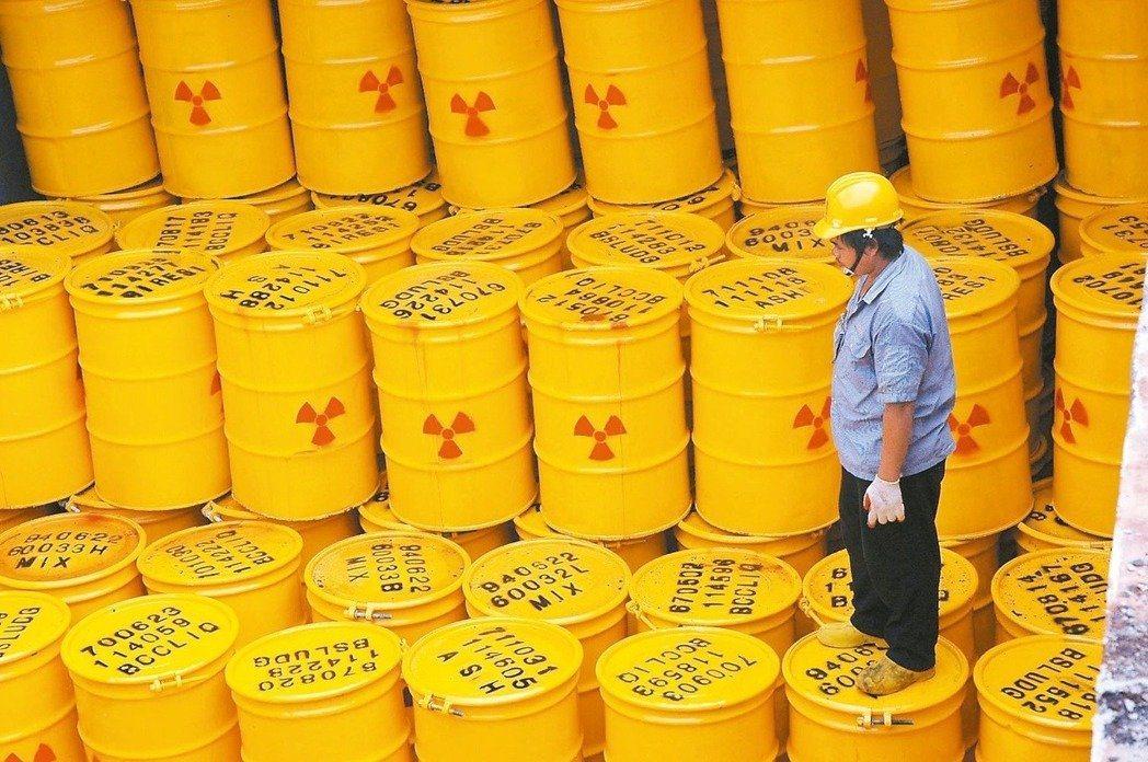 核廢何去何從?圖/本報資料照片