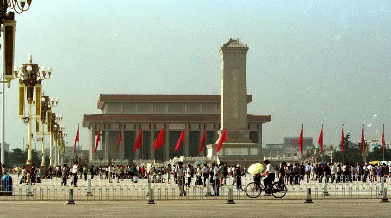 圖為北京天安門。 聯合系資料照