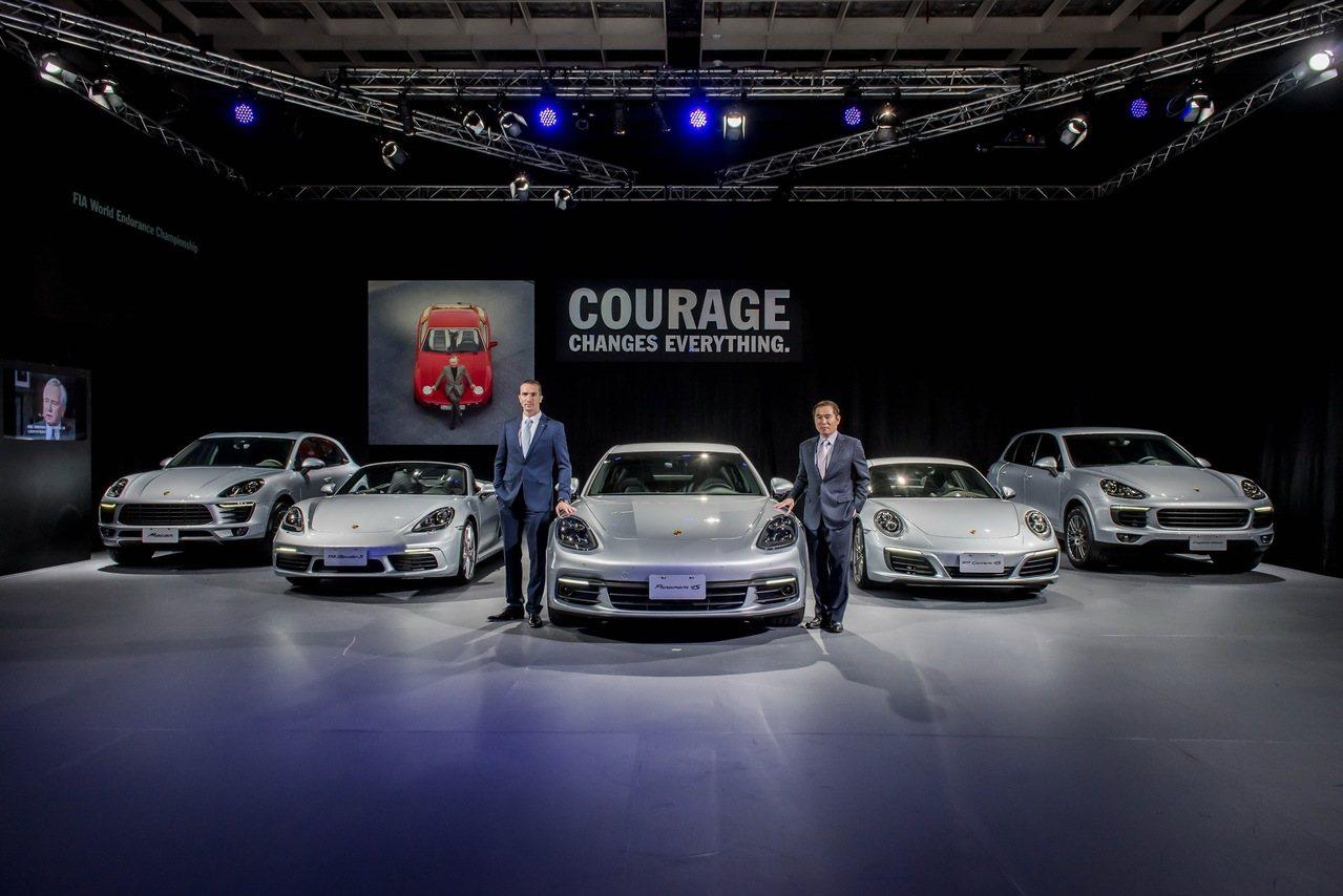 保時捷日前發表全新Panamera車系。 圖/永業提供