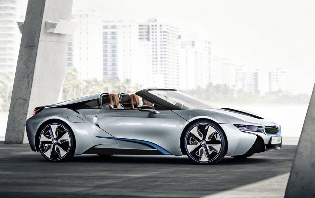 BMW i8 Spyder。 圖/BMW提供