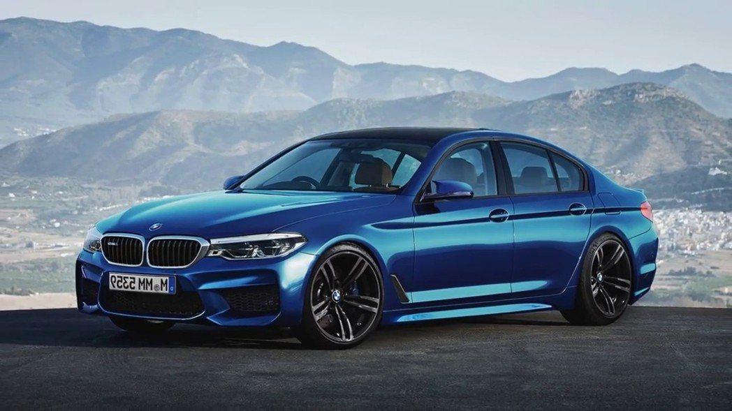 BMW M5。 圖/BMW提供