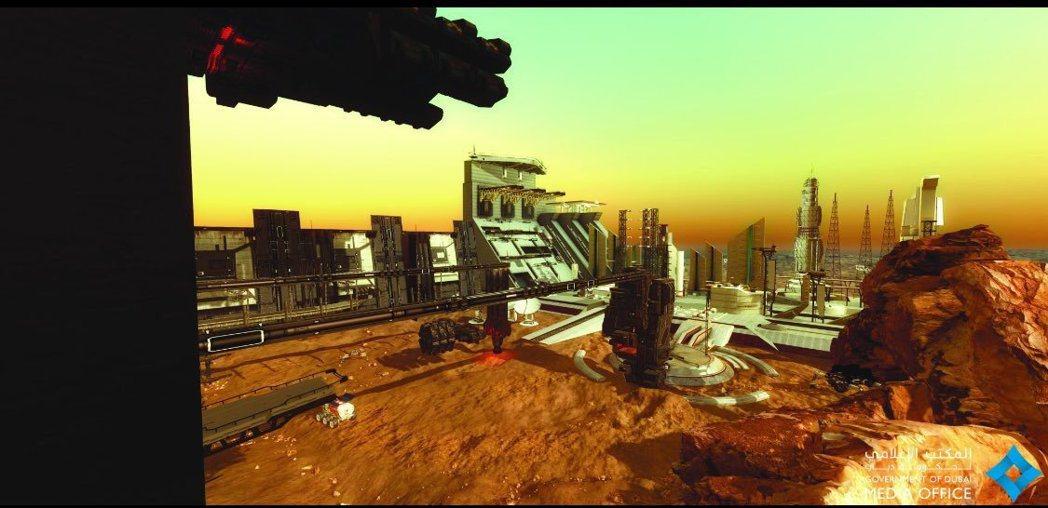 阿聯計劃2117年讓人類住火星