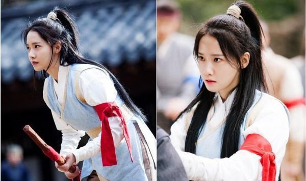 潤娥在新戲「戀愛中的王」的古裝造型搶先曝光。圖/擷自韓網