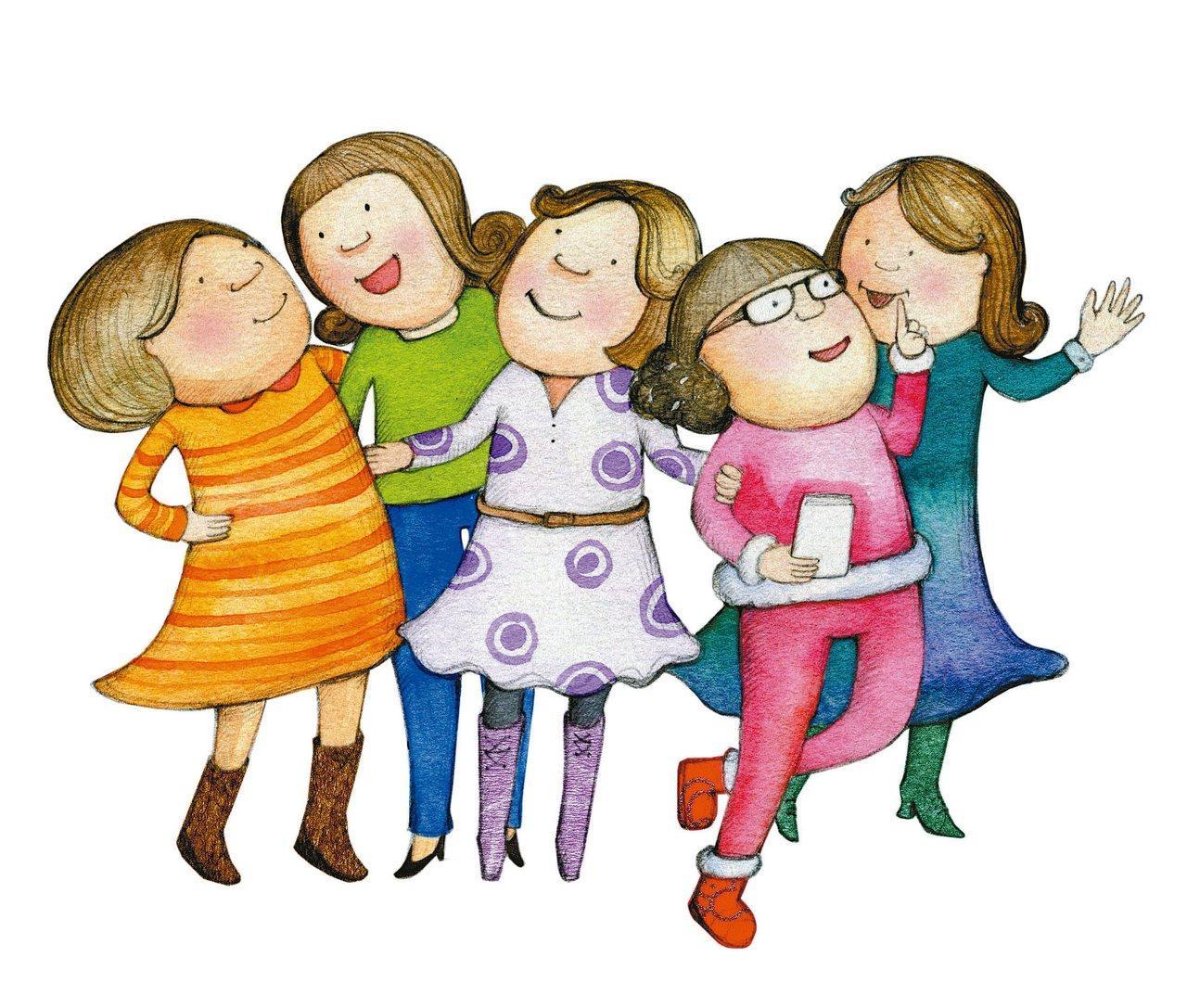 老媽七年連生五女,所以我們姊妹年齡差距不大,樣子像同一個模子刻出來的也是自然,但...
