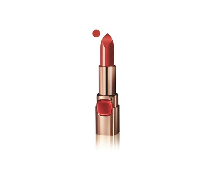 巴黎萊雅純色訂製唇膏柔霧款#233氣質玫瑰,售價385元。圖/巴黎萊雅提供