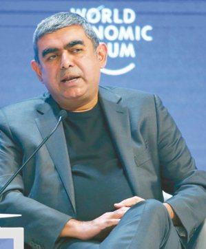 印度IT服務巨擘Infosys執行長史維學 圖/網路照片