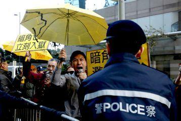 尋找拍肩警:香港佔中「七警毆打案」判決對臺灣的啟示