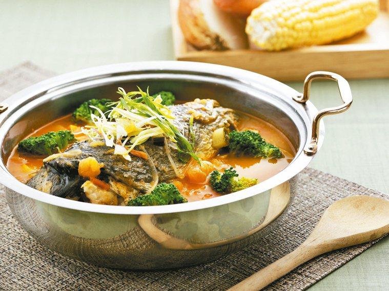 番茄海鱺魚頭鍋